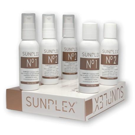 Sunplex - Kuracja regenerująca włosy 5 x 5 ml