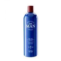 CHI Man The One 3-in-1 Szampon, Odżywka, żel do mycia ciała 355ml