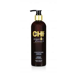 CHI Argan Oil Odżywka odbudowująca z jedwabiem, olejkiem arganowym i keratyną 340 ml