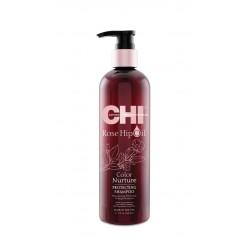 Szampon do włosów farbowanych CHI Rose Hip Oil Shampoo 340 ml