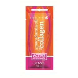 Bioelixire Macadamia Oil + Collagen Maska rewitalizująca 20ml