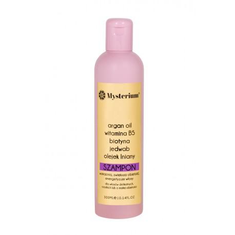 MYSTERIUM Szampon zwiększający objętość dla włosów delikatnych i wypadających.
