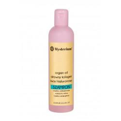 Szampon MYSTERIUM intensywnie nawilżający dla włosów suchych i matowych.