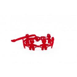 DLA DZIECI: Chłopiec czerwony - Bransoletka MISSIU
