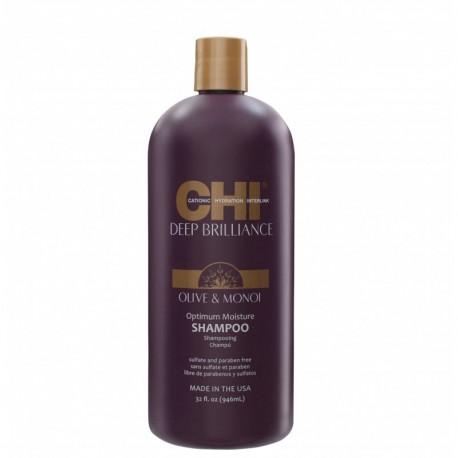 CHI Deep Brilliance Szampon nawilżający z oliwą z oliwek i olejem Monoi 59 ml