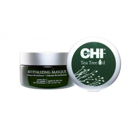 CHI Tea Tree Oil Maska rewitalizująca do włosów przesuszonych i wrażliwej skóry głowy 237ml