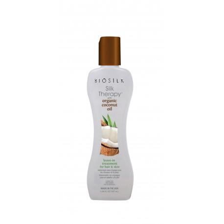 Odżywka bez spłukiwania Biosilk Silk Therapy with Organic Coconut Oil Leave-in Treatment 167 ml