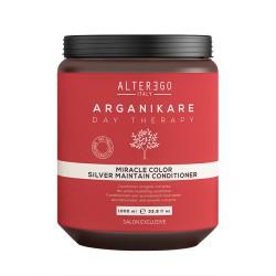 Alter Ego Arganikare Miracle Color Silver Odżywka ochładzająca do włosów blond 1000ml