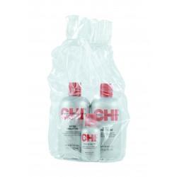 Zestaw CHI Infra Szampon 355ml + Odżywka 355 ml - Jedwab 59 ml