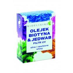 Bioelixire Biotyna + Jedwab + Filtr UV - serum do włosów 20ml