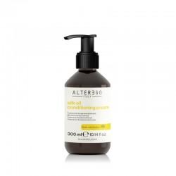 Alter Ego Silk Oil Odżywka w kremie nadająca efekt jedwabistych włosów 300ml