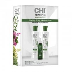 CHI Power Plus KIT - zestaw Szampon + Odżywka + Kuracja
