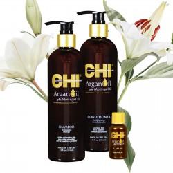 Zestaw CHI ARGAN - szampon 355ml + odżywka 355ml+ olejek 15ml